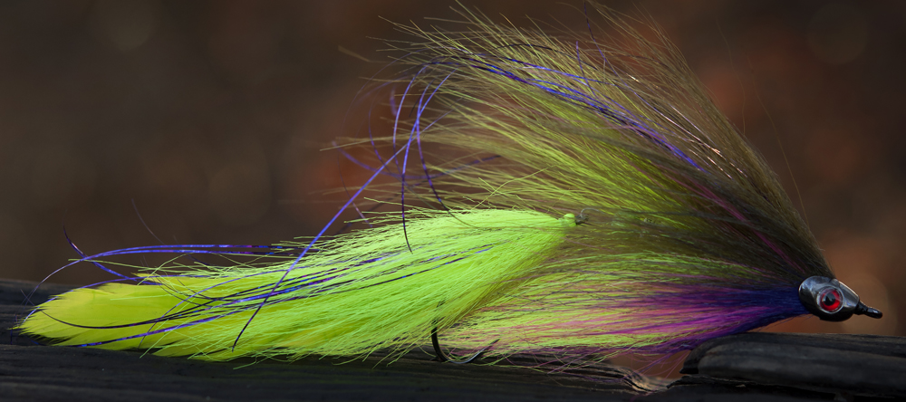 Olive Fishskull Streamer by Andreas Andersson on TP610