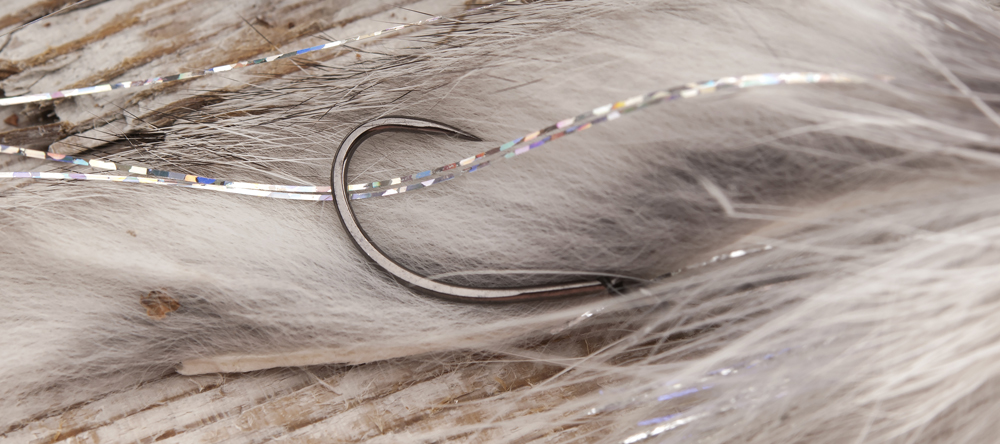 Shanked Grey Muddler with HR483 attached by Magnus Nygren