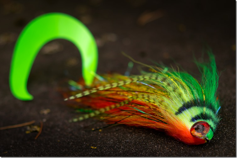 12 inch Firetiger Kraken by Nightmare Musky Flies-03