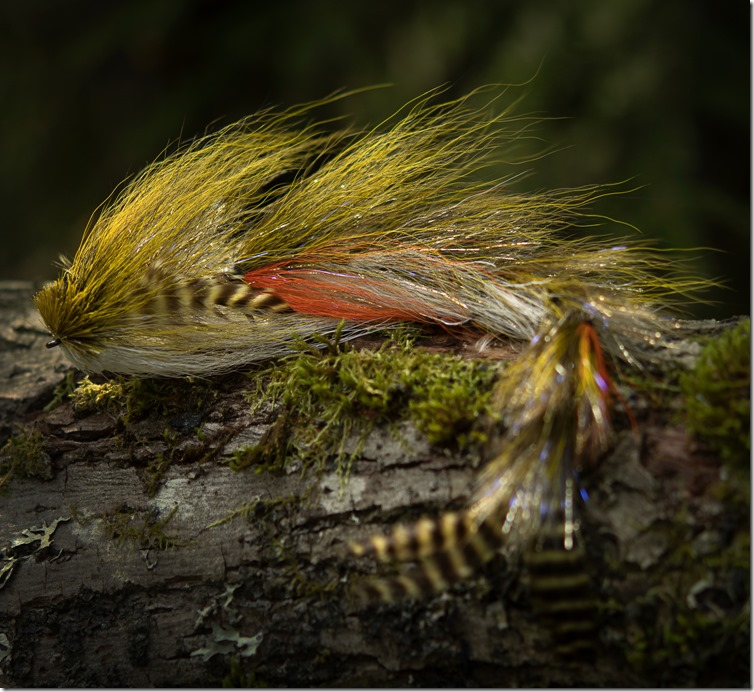 Buford Bucktail Changer - Olive by Nightmare Musky Flies-06