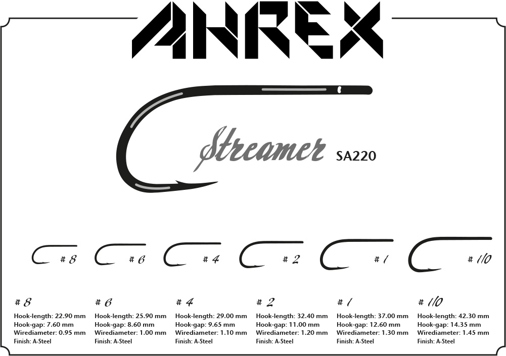 AHrex - SA220 Streamer