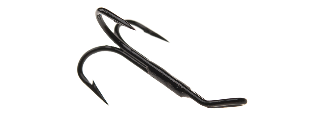 Ahrex HR490B ED Tying Treble Black Finish - Hook only - Art-01 (#8)