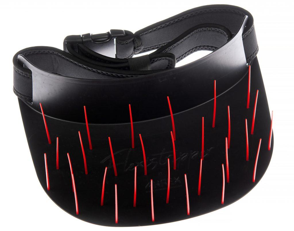 Ahrex Flexistripper Black with Red Pegs 125cm Belt - SKU no 200-03