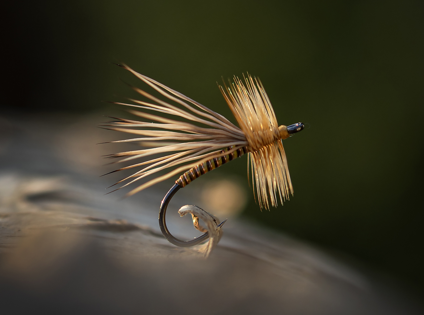 Tan Ribbed Quill body dry by Luke Stacy-02