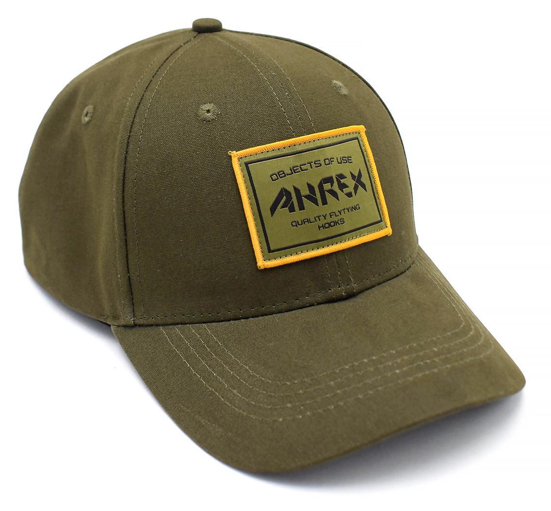 Ahrex Woven Patch Cap - Loden-02