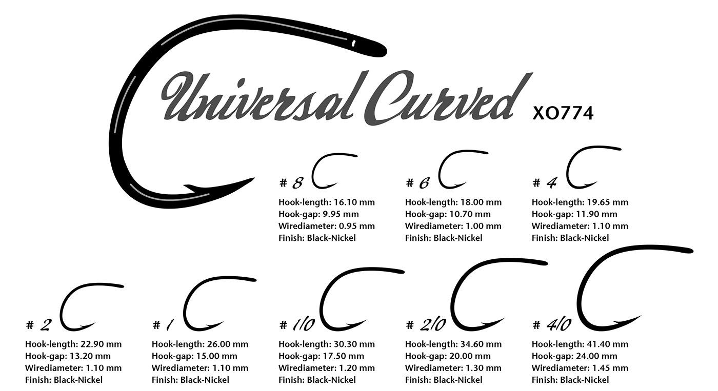 XO 774 - Universal Curved kopi